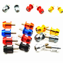 Free Shipping 8mm Universal Motorcycle CNC Aluminum Swingarm Spools Slider Stands Screws