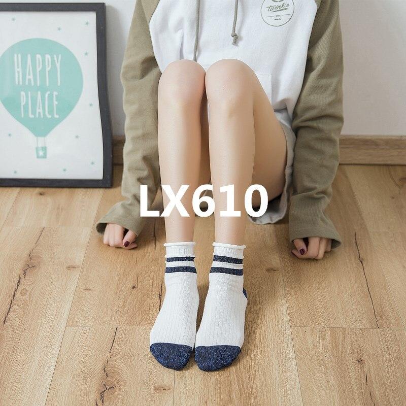 2018 new arrive fashion Women socks high quality 6pcs/set LX610