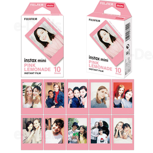 Image 2 - 30 sheets Fujifilm Instax Mini Film Instant Photo Paper Blue/Black/Pink For Mini 9 8 8+ 7s 90 70 25 50s Camera SP 2 SP 1 Printer