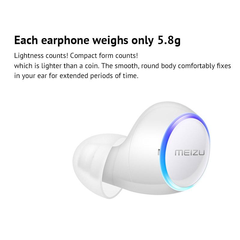 Meizu POP TW50 inalámbrica Bluetooth auriculares Mini deporte Bluetooth 4,2 auriculares Meizu teléfono ilimitado dual inalámbrico diseño - 5