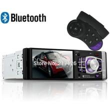 4.1 pulgadas radio del coche del Bluetooth Cámara trasera de Apoyo/FM/Aux/USB/TF MP5 Jugador 1Din Volante rueda de Control Remoto estéreo