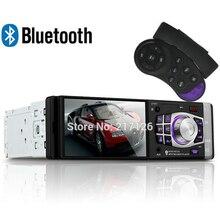 4.1 дюймов автомобиля Bluetooth радио Поддержка Камеры заднего вида/FM/Aux/USB/TF MP5 Плеер 1Din Руля пульт Дистанционного Управления стерео