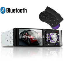 4.1 дюймов Bluetooth автомагнитолы Поддержка сзади Камера/FM/AUX/USB/TF mp5 плеер 1DIN рулевого управления колеса Дистанционное управление Стерео