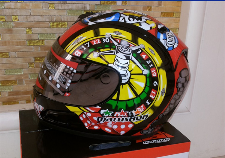 Brand malushun motorcycle helmet Jorge Lorenzo full face helmet motoGP racing helmet moto casco motociclistas capacete DOT jorge drexler quito