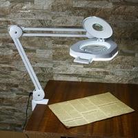 Multi functional Welding LED Magnifier LED Magnifying Lamp Glass Alligator Clip Holder Clamp Soldering Repair Tool Makeup