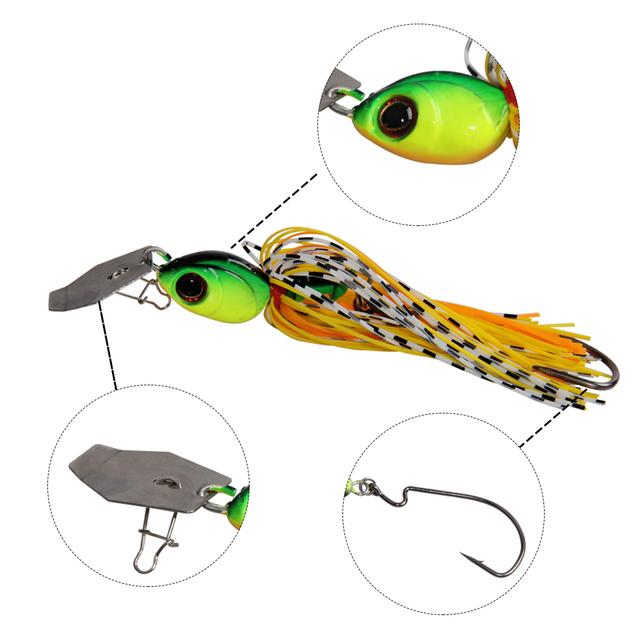 Superior Chatterbait SpinnerBait Fishing Bait
