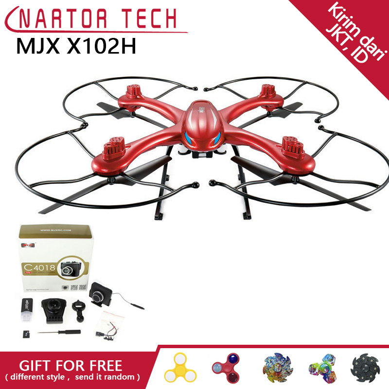 MJX X102H RC Drone Altitude Hold One Key Return Quadcopter With FPV Camera HD Quadcopter mjx x601h crones camera hd wifi drone auto return rc helicopter professional fpv drone quadcopter with camera