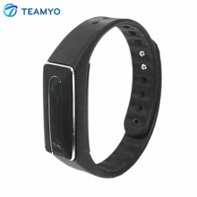 Bluetooth 4.0 активности фитнес-трекер Smart Браслет монитор сердечного ритма Смарт для iOS и Android двухсторонний USB- зарядки