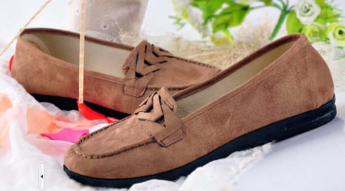 Fashion High Quality Vintage Women Flat Shoes Women Flats And women's Spring Summer Autumn Shoes Slip onWSH682