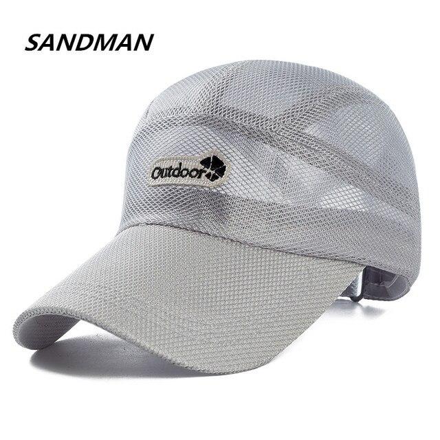 7c83a0665b460 SANDMAN los hombres y las mujeres del verano al aire libre sombrero de Sun  del Snapback
