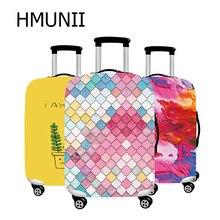 HMUNII популярный модный Эластичный Защитный чехол для багажа, подходит для 18-32 дюймов, чехол на колесиках, чехол для костюма, пылезащитный чехол, аксессуары для путешествий