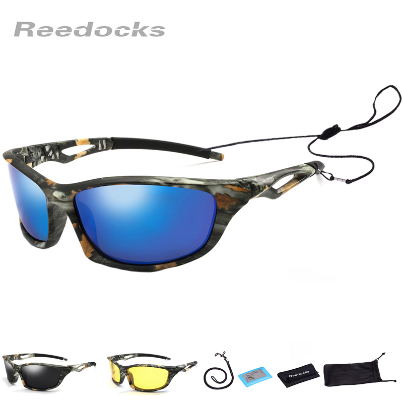 New Camouflage Polarized Fishing Glasses Men Women Cycling Hiking Driving Sunglasses UV400 Outdoor Climbing Sports Eyewear