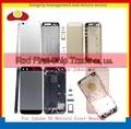 10 Шт./лот Для IPhone 5S Рамы Шасси Задняя Крышка Задняя Панель Корпуса Крышка батарейного Отсека Дверь Серый Золото Серебро и Розовое Бесплатная доставка