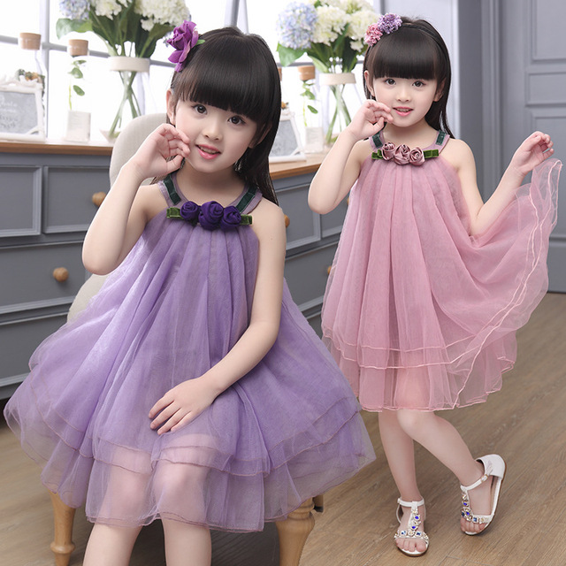 545f3f1db98e Drop shipping Children clothes 2016 New Summer girls sleeveless ...