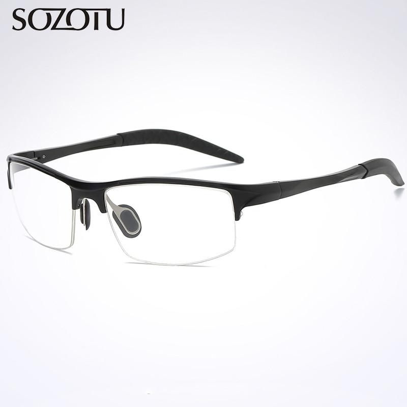 Brillenrahmen Ausdauernd Sozotu Optische Brillen Rahmen Männer Rezept Computer Klar Objektiv Auge Brille Spektakel Rahmen Für Männliche Oculos Brillen Yq349 Exquisite Handwerkskunst; Bekleidung Zubehör
