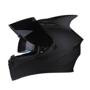 Image 3 - AIS Motorrad Helm Flip Up Motocross Helme Moto Full Face Helme Capacete Casco Moto Mit Inneren Sonnenblende Modulare Schwarz