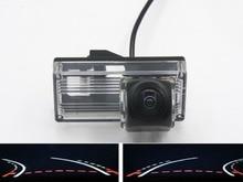 цена на Trajectory Tracks 1080P Fisheye Car Rear view Camera for Toyota land Cruiser 200 LC200 2000 -2014 Toyota Reiz 2008 2009