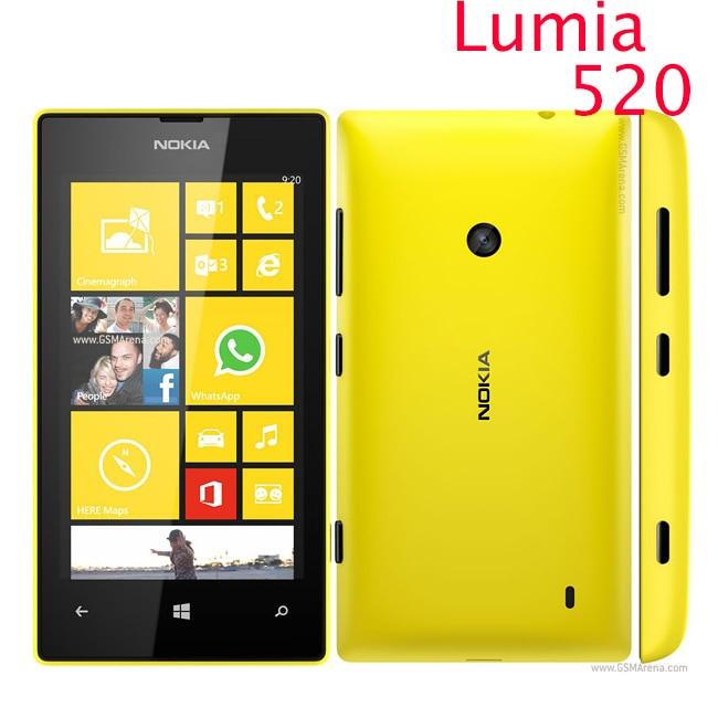 Original 520 phone Nokia Lumia 520 cell phone Dual core ...