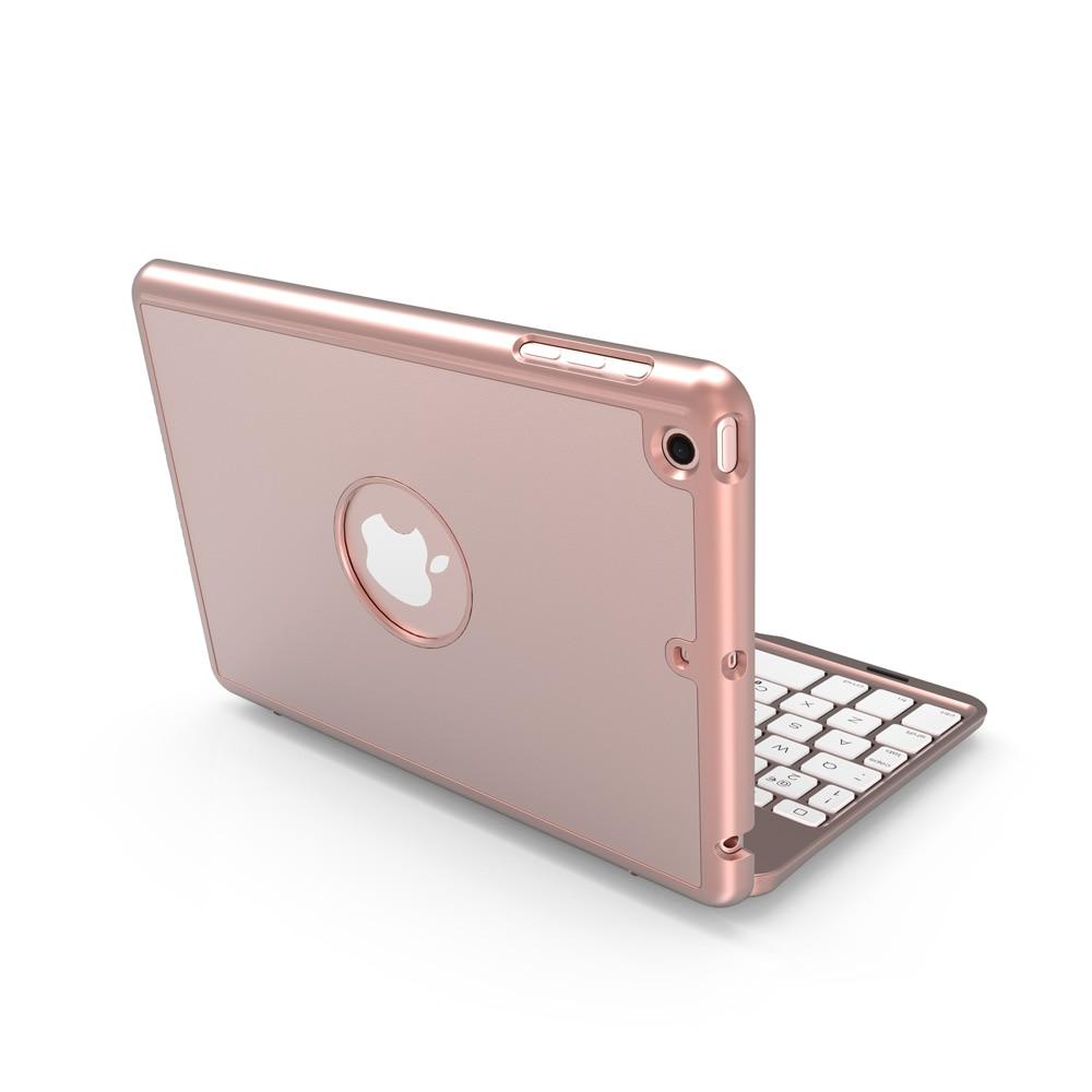 capa para ipad mini4 clamshell retroiluminado teclado