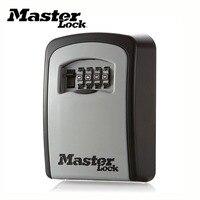 Мастер замок Сейф с ключом открытый настенное крепление комбинация блокировки паролей скрытые ключи коробка для хранения сейфы для Дома Оф...