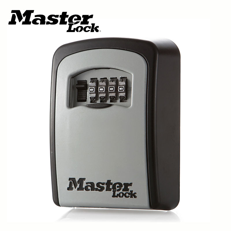 Master Lock Key Safe Box Outdoor Wall Mount Combination Password Lock Hidden Keys Storage Box Security Safes For Home Office master lock safe space