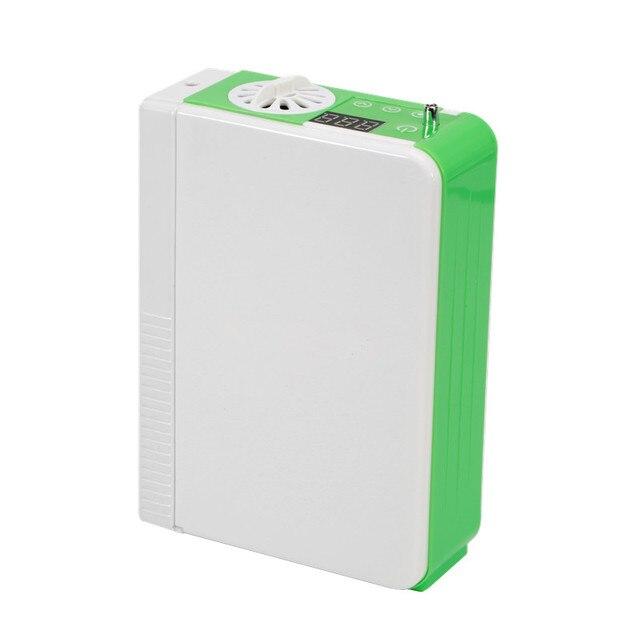 DC12V Li Battery Oxygen Concentrator Health Care Medical Car Use 110V 220V Mini Portable Oxygen Generator O2 Making Machine 4