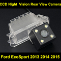 Rear View Reverse Camera for Ford EcoSport 2013 2014 2015 Car CCD night vision backup Parking camera