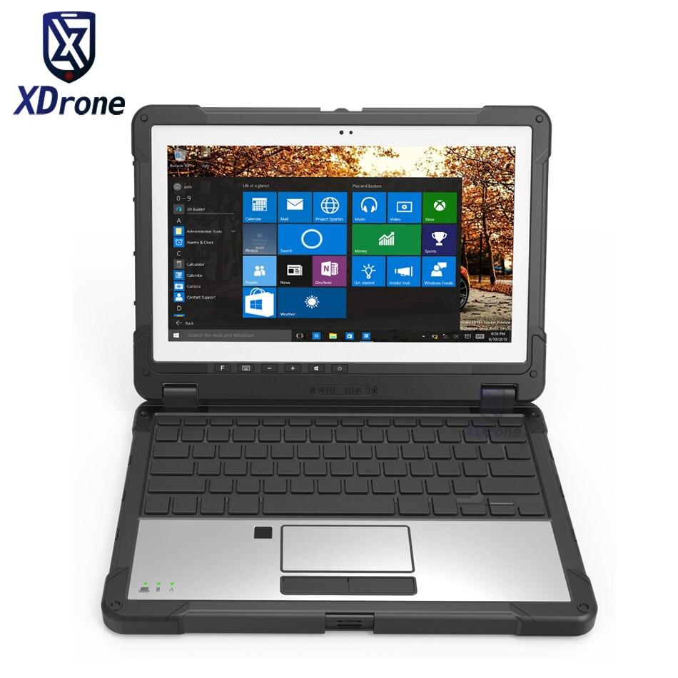 China KX11 Rugged Windows 10 Tablet PC Waterproof Rugged Laptop