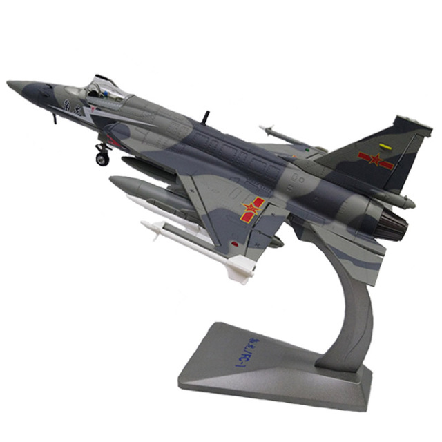 US $69 92 20% OFF|1/48 Scale Military Model Toys FC 1 Fierce Dragon / JF 17  Thunder Fighter Aircraft Diecast Metal Plane Model Toy-in Diecasts & Toy
