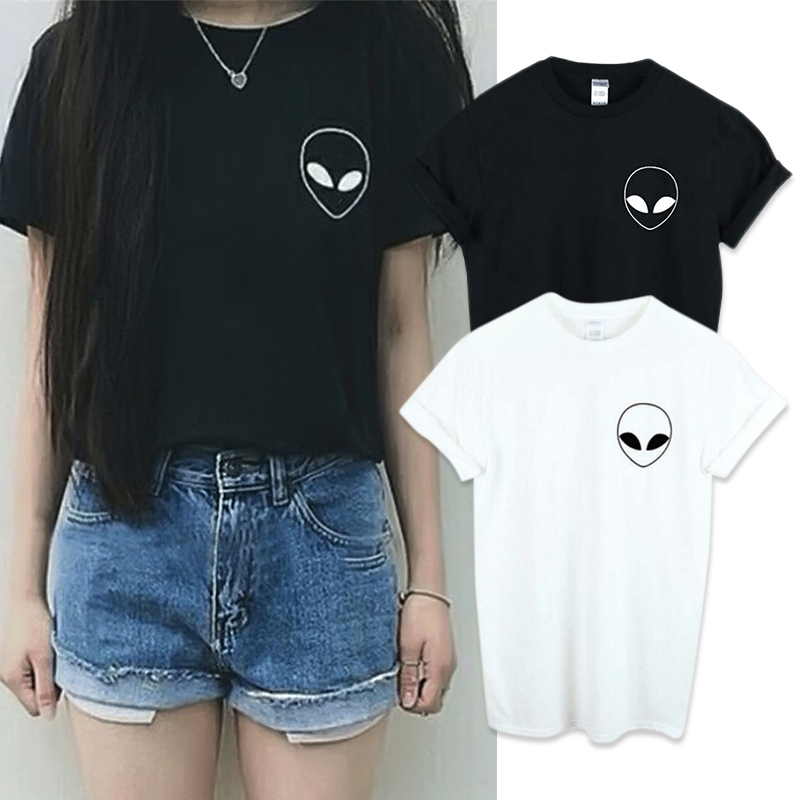 New-Summer-Kawaii-Design-Pattern-Aliens-T-Shirts-Women-O-Neck-Casual-Short-Sleeve-Cropped-Tops (3)