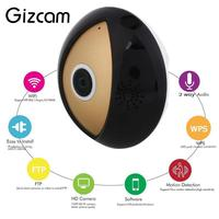New DC5V 1A Wireless 360 Degree For Panoramic Fisheye HD WiFi Cam Network Home Security VR