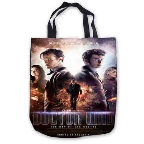 5fea04c3255d Custom Canvas Doctor-Who-Fashion Tote Hand Bags Shopping Bag Casual Beach  HandBags Foldable 180911-01-10