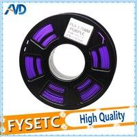 1.75 pla/ABS нити глубокий pruple Цвет 1.75 мм 1 кг pla/ABS нити печать материалов для 3D-принтеры exturder/3D Ручка