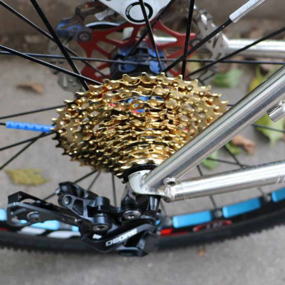 Premium 10speed 11-36t Mtb Gold Freewheel Mountain Road Bike Casette Flywheel Cassettes, Freewheels & Cogs
