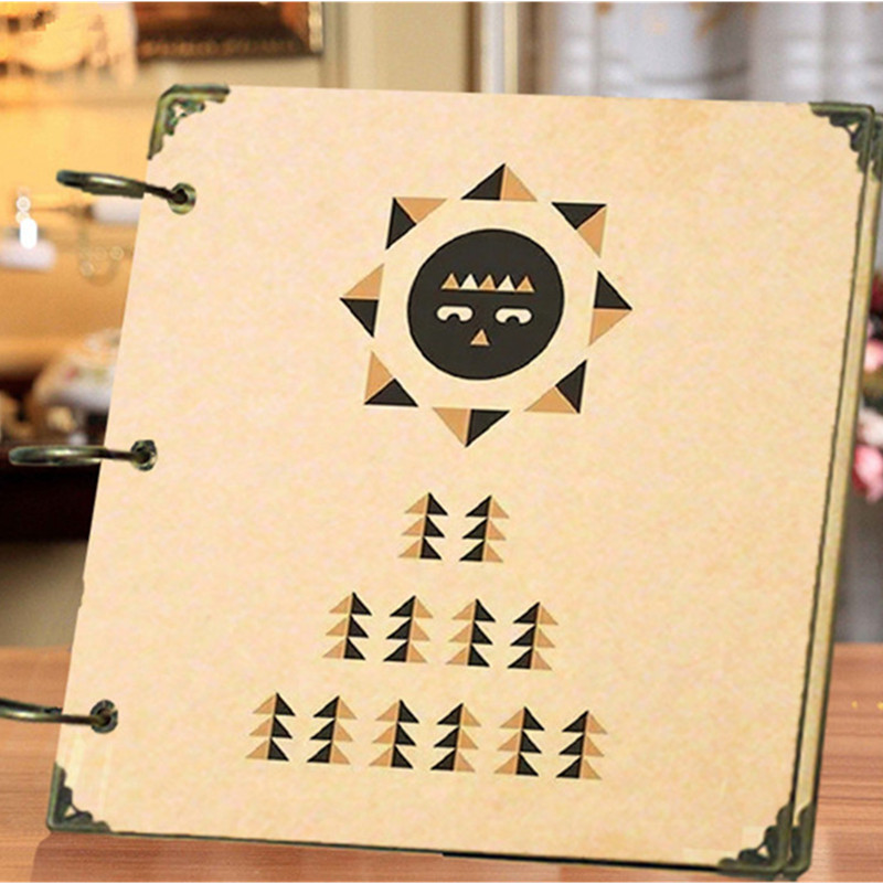 Photo Album Retro Love Creative Gift Loose-leaf Sheep Scrapbooking Baby Travel Comments DIY Craft Handmade 8 Inch 10 Styles adjustable mandoline slicer professional grater
