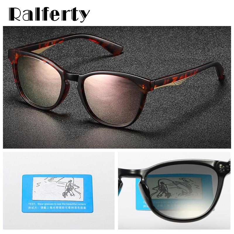 Ralferty Vintage Sunglasses Women Polarized UV400 Sun Glasses Ladies Cat Eye Tortoise Brown Lens Sunglass Retro Shades D201925 in Women 39 s Sunglasses from Apparel Accessories