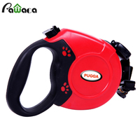 Led Dog Leash Rope Nylon Belt Retractable Automatic Extending Pet Supplies Running Walking Leads For Medium