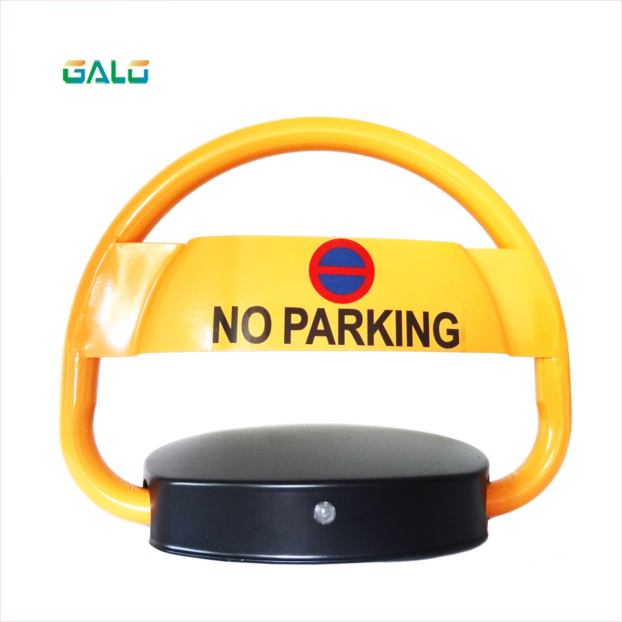 Parking Lot Solar Power Remote Control Car Space Lock