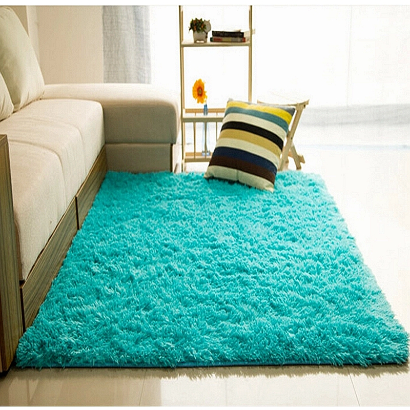 Mat For Home Parlor Bedroom Living Room 9 Dimensions Modern Long Plush Shaggy Soft Carpet Area
