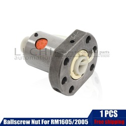 1 sztuk RM 1605 Anti luz nakrętka kulkowa do śruby kulowej SFU1605 SFU1204 SFU1610 SFU2005 SFU2505 SFU3205 CNC części CNC w Prowadnice liniowe od Majsterkowanie na