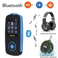 2018 Mise À Jour Version RUIZU X06 Bluetooth mp3 lecteur de Musique avec 1.8