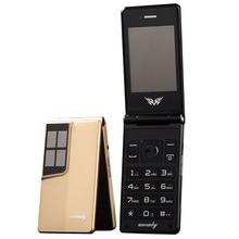 Флип-экран 2,8 дюйма, большая клавиатура, дешевый сенсорный мобильный телефон для пожилых, раскладушка, мобильные телефоны для России, H-mobile