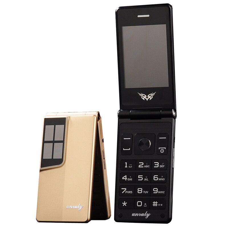 """Flip 2,8 """"bildschirm original flip große tastatur günstige senior touch handy Telefon Älteren clamshell handys russische H -mobile"""