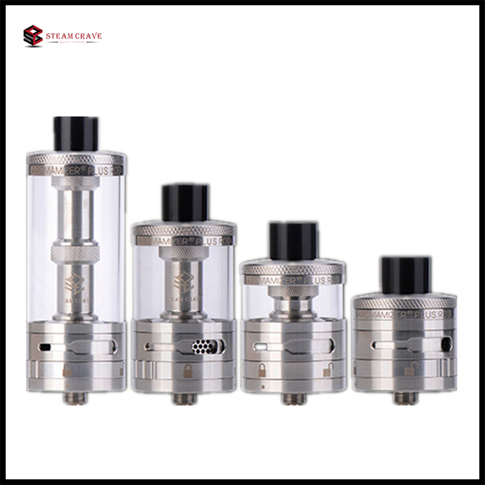 E Cigarette Vape Tank Steam Crave Aromamizer Plus 10ml RDTA 30mm Real Dripper Atomizer with High Quality VS TFV12 Vaporizer
