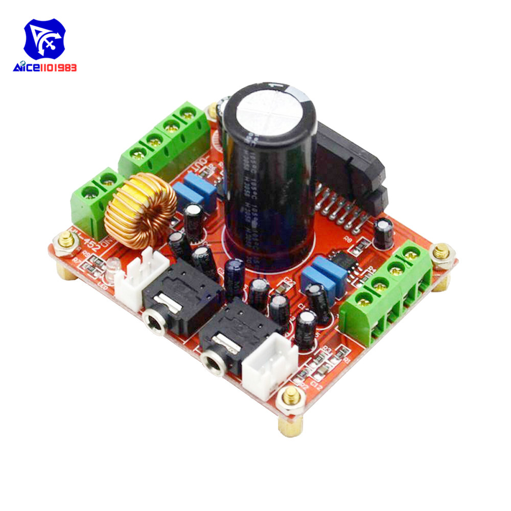 XH-M150 TDA7850 4*50W Car Audio Power Amplifier Module with BA3121 Noise Reduction Module Amplifier Board DC 12VXH-M150 TDA7850 4*50W Car Audio Power Amplifier Module with BA3121 Noise Reduction Module Amplifier Board DC 12V