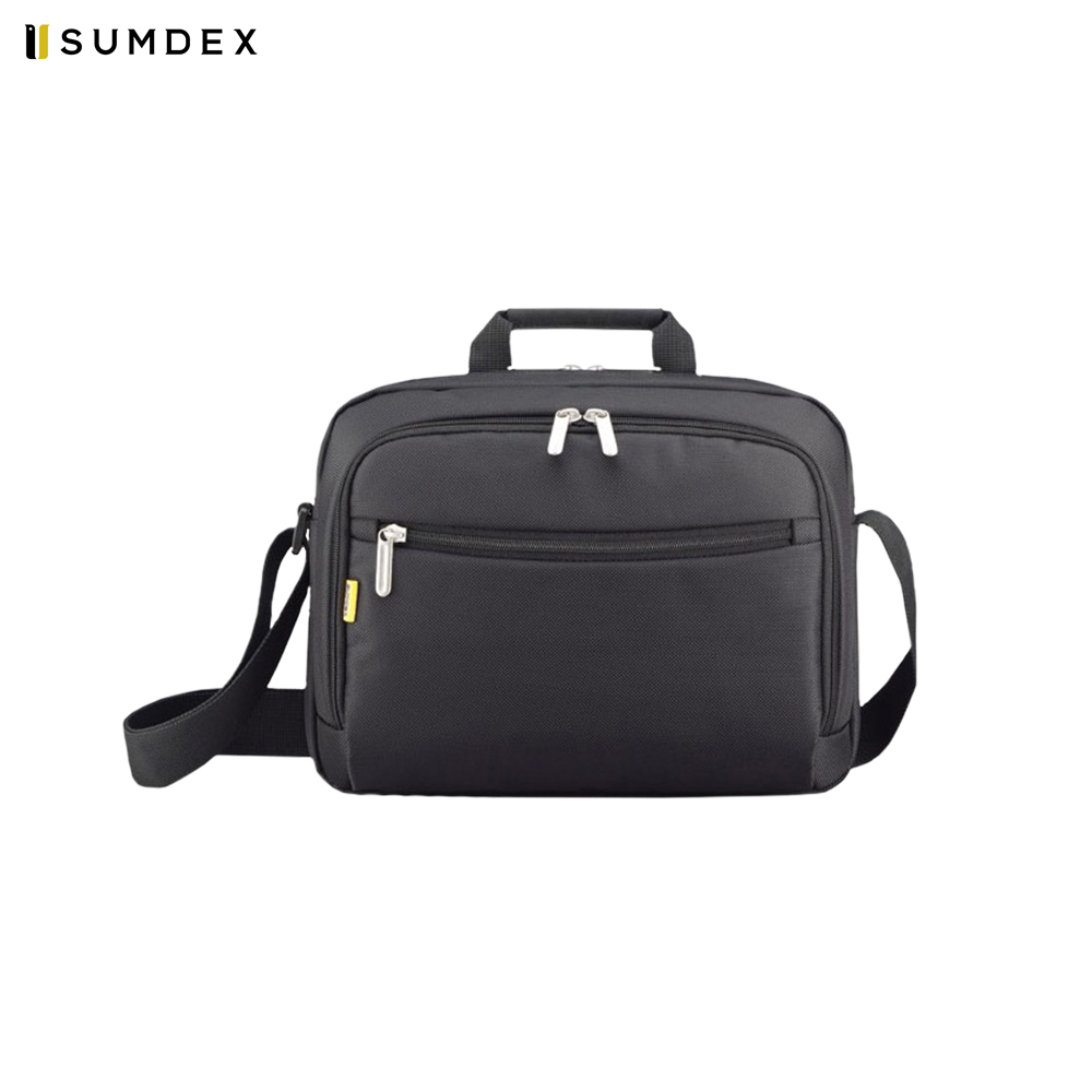 Фото - Laptop Bags & Cases Sumdex SUMPON348BK for laptop portfolio Accessories Computer Office for male female 2017 hot handbag women casual tote bag female large shoulder messenger bags high quality pu leather handbag with fur ball bolsa