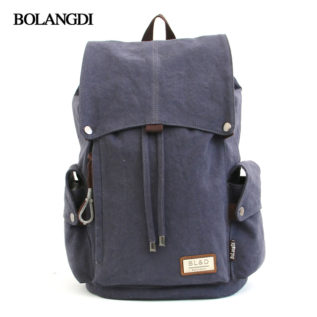 Casual Backpack Canvas Men Bagpack School Drawstring Bags for Women 2017 Laptop Travel Bag High Quality Teenage Girls Backpack