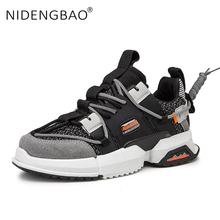 Men Shoes Breathable Mesh Thick Sole Dad Shoes For Men Outdoor Sneakers Running Sport Shoes Jogging Walking Athletic Footwear tba brand sport shoes men 2016 new breathable men running shoes for men sneakers shock absorption men jogging athletic shoes