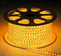 10m/lot AC220V 5050 led strip waterproof rope light led ruban flexible tape light 60led/M with EU plug outdoor garden decoration