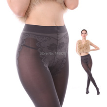 2014 Fashion Women Sexy Silk Velvet Pantyhose Anti-tick Bikini Seamless Tights Winter Warm Stockings 280D Wholesale